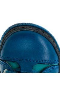 Niebieskie półbuty RenBut