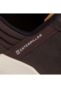 CATerpillar - Półbuty CATERPILLAR - Hex P724186 Coffee Bean. Okazja: na co dzień. Kolor: brązowy. Materiał: skóra, nubuk, materiał. Szerokość cholewki: normalna. Styl: elegancki, sportowy, casual
