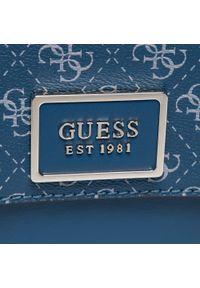 Guess - Torebka GUESS - Tyren (SG) HWSG79 66180 BLU. Kolor: niebieski. Materiał: skórzane. Styl: klasyczny