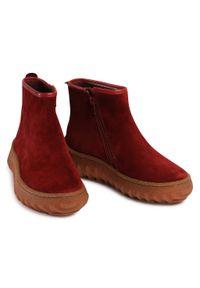 Czerwone botki Camper
