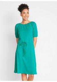 Zielona sukienka bonprix
