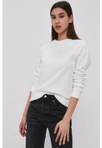 Biała bluza Reebok Classic długa, z długim rękawem