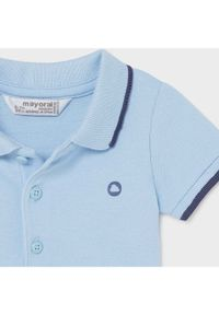 Niebieski t-shirt polo Mayoral polo