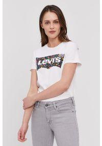 Biała koszula Levi's® biznesowa, na spotkanie biznesowe