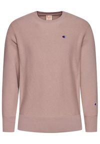 Champion Bluza Reverse Weave 215215 Różowy Custom Fit. Kolor: różowy