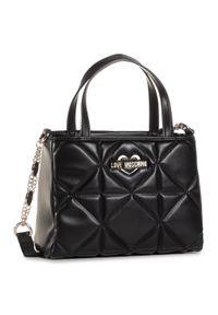 Czarna torebka klasyczna Love Moschino na ramię