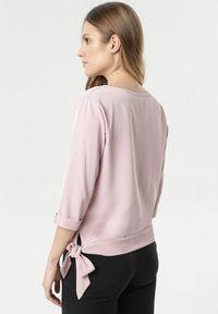 Born2be - Różowa Bluzka Thesia. Kolor: różowy