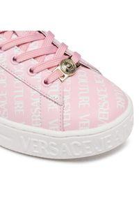 Versace Jeans Couture Sneakersy E0VWASKL Różowy. Kolor: różowy