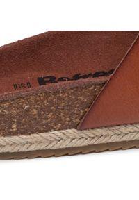 Refresh - Espadryle REFRESH - 72960 Camel. Okazja: na co dzień. Kolor: brązowy. Materiał: skóra ekologiczna, skóra. Sezon: lato. Styl: casual