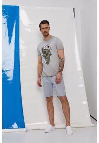 medicine - Medicine - T-shirt by Dawid Bacewicz, Grafika Polska. Kolor: szary. Materiał: dzianina. Wzór: nadruk