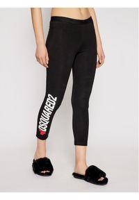 Dsquared2 Underwear Legginsy D8N473480 Czarny Slim Fit. Kolor: czarny