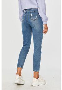 Niebieskie jeansy Answear Lab na co dzień, wakacyjne