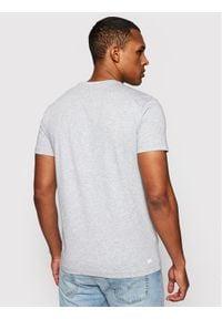 Lacoste T-Shirt TH2042 Szary Regular Fit. Kolor: szary