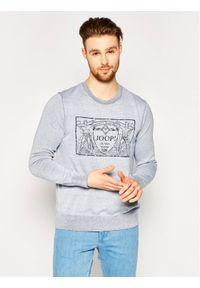 JOOP! Jeans - Joop! Jeans Sweter 15 JJK-10Rian 30020595 Szary Regular Fit. Kolor: szary