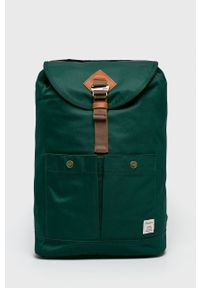 Doughnut - Plecak Montana. Kolor: zielony. Wzór: paski