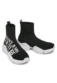 Versace Jeans Couture - Sneakersy VERSACE JEANS COUTURE - E0YWASU3 71930 899. Okazja: na co dzień. Kolor: czarny. Materiał: materiał. Szerokość cholewki: normalna. Styl: sportowy, casual