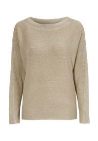 Soyaconcept Sweter Dollie beżowy melanż female beżowy XL (44). Kolor: beżowy. Materiał: dzianina. Długość: długie. Wzór: melanż