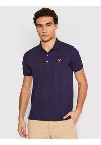 Niebieska koszulka polo polo