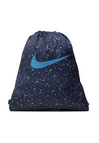 Nike Worek BA5993-492 Granatowy. Kolor: niebieski