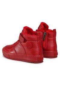 Big-Star - Sneakersy BIG STAR - GG374042 Red. Kolor: czerwony. Materiał: skóra. Sezon: zima