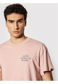 Deus Ex Machina T-Shirt Cruz DMP201793E Różowy Boxy Fit. Kolor: różowy