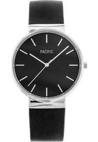 Czarny zegarek Pacific
