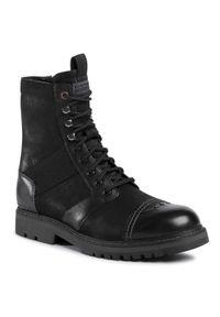 Czarne buty zimowe G-Star RAW
