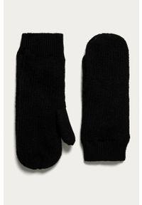 Czarne rękawiczki Pieces