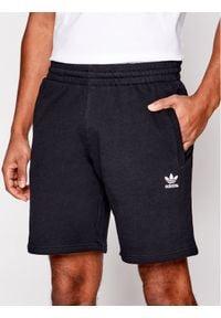 Adidas - adidas Szorty sportowe Essential FR7977 Czarny Regular Fit. Kolor: czarny