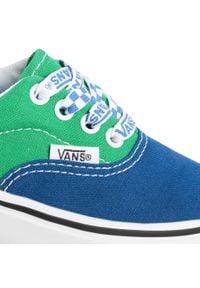 Vans - Tenisówki VANS - Comfycush Era VN0A4U1OWI11 (Lace Mix)True Bl/Fern Gr. Okazja: na spacer, na uczelnię. Kolor: wielokolorowy, zielony, niebieski. Materiał: materiał. Szerokość cholewki: normalna