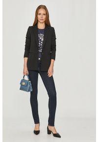 Trussardi Jeans - Jeansy. Kolor: niebieski