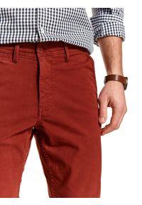 Pomarańczowe spodnie TOP SECRET