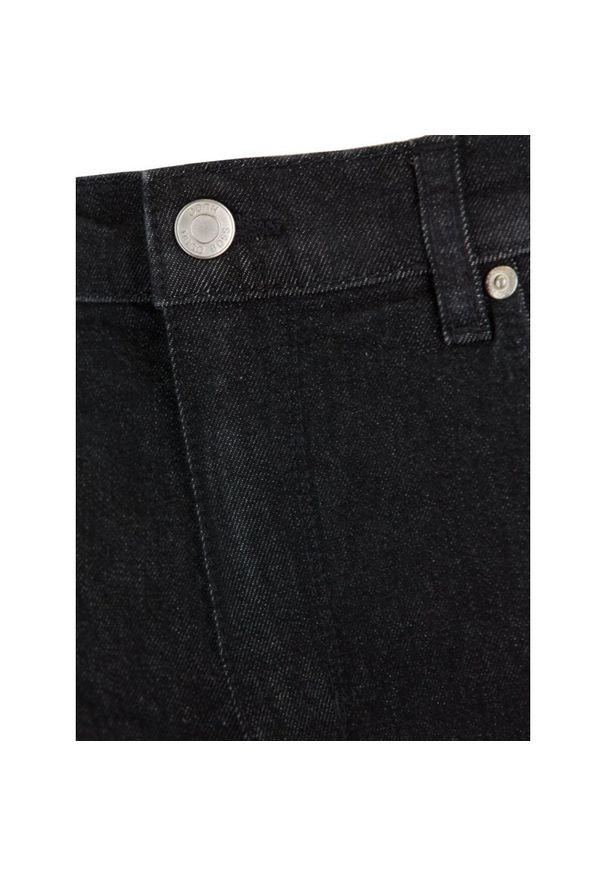 Szare jeansy Hugo