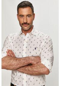 Biała koszula Polo Ralph Lauren długa, casualowa, polo