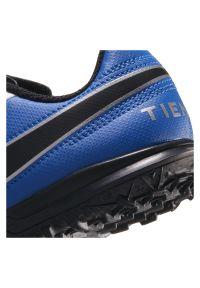 Buty piłkarskie turfy dla dzieci Nike Tiempo Legend 8 Club PS TF CZ4216. Zapięcie: rzepy. Materiał: skóra, syntetyk. Szerokość cholewki: normalna. Sport: piłka nożna