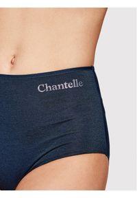 Chantelle Figi klasyczne z wysokim stanem Prime C12B80 Granatowy. Stan: podwyższony. Kolor: niebieski