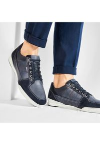 Geox Sneakersy U Kristof B U920EB 0CL22 C4002 Granatowy. Kolor: niebieski