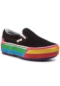 Czarne buty sportowe Vans z cholewką, Vans Classic