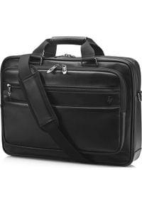 """Torba HP Torba na notebook 15,6"""", Executive Leather, czarna, skóra syntetyczna, HP. Kolor: czarny. Materiał: skóra, syntetyk"""