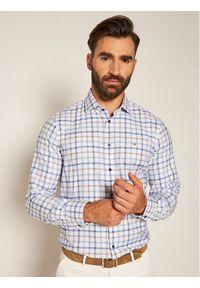Niebieska koszula biznesowa TOMMY HILFIGER
