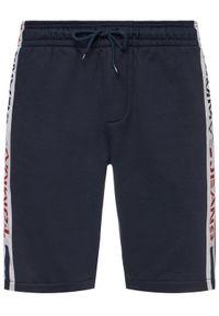 Niebieskie spodenki sportowe Tommy Jeans #5