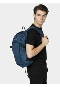 4f - Plecak miejski. Kolor: niebieski. Materiał: włókno, materiał