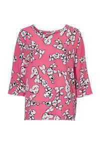 Soyaconcept Bluzka Sabrina różowy we wzory female różowy/ze wzorem XL (44). Kolor: różowy. Materiał: tkanina