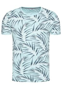 Only & Sons T-Shirt Iason 22016762 Niebieski Slim Fit. Kolor: niebieski #5