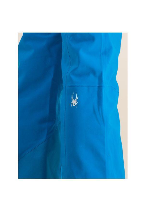 Niebieskie spodnie narciarskie Spyder