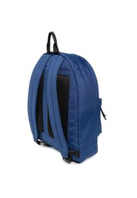 Niebieska torba na laptopa Lacoste