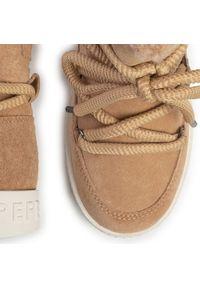 Beżowe botki Pepe Jeans