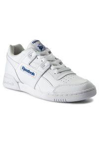 Białe buty sportowe Reebok z cholewką, Reebok Royal