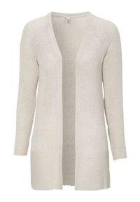 Beżowy sweter Soyaconcept elegancki, z aplikacjami