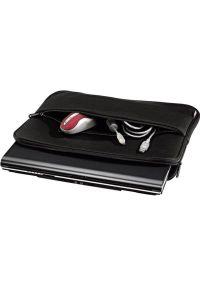 Czarne etui na laptopa hama eleganckie